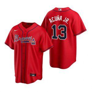 Atlanta Braves Ronald Acuna Jr. Jersey